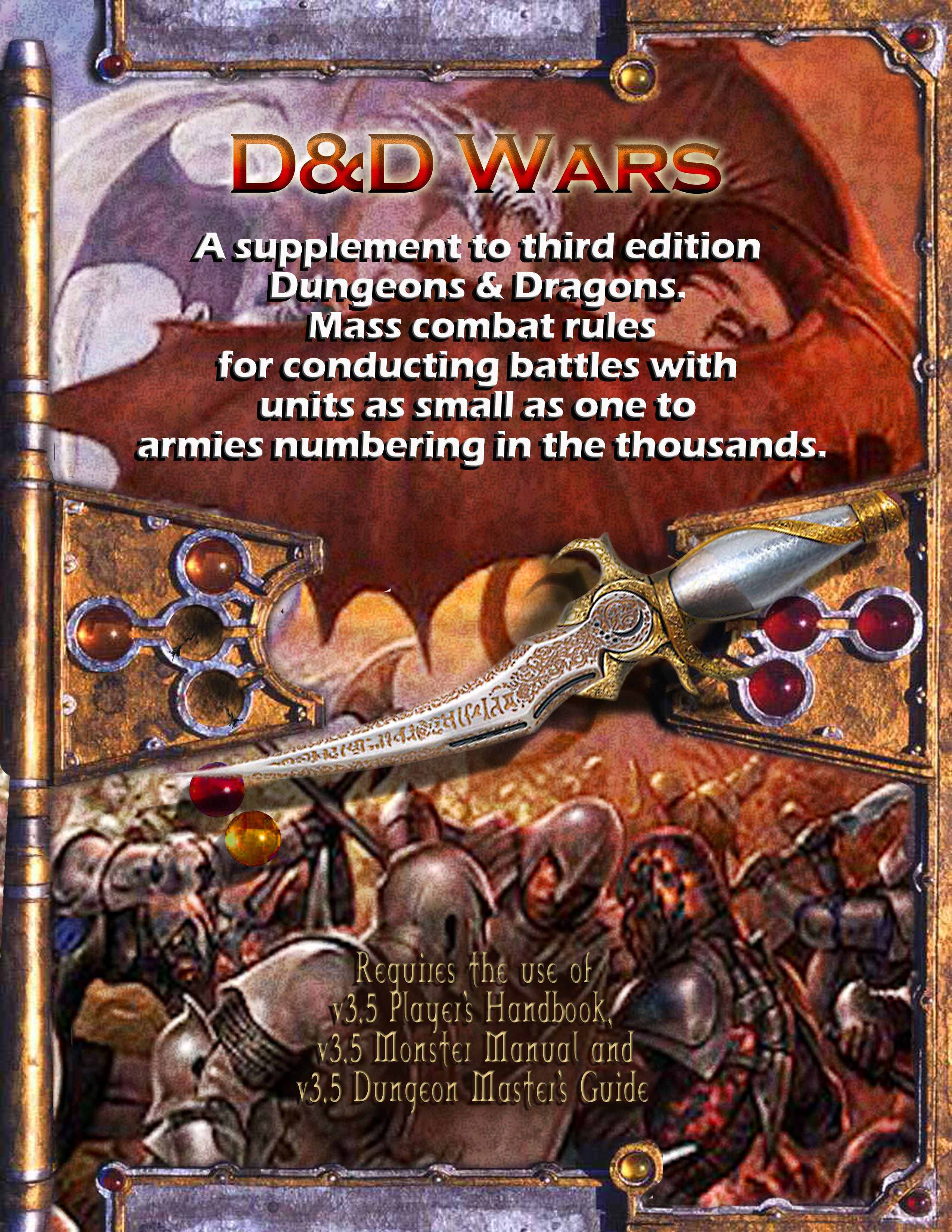 D D 3 5 Wars Mass Combat Rules Dungeon Master Assistance