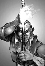 Half-orc Wizard