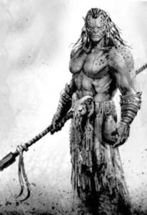 Half_elf Barbarian
