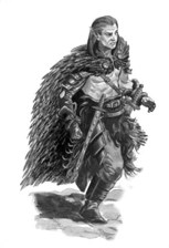 Halfling Barbarian