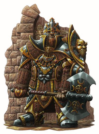 Gold Dwarf Knight