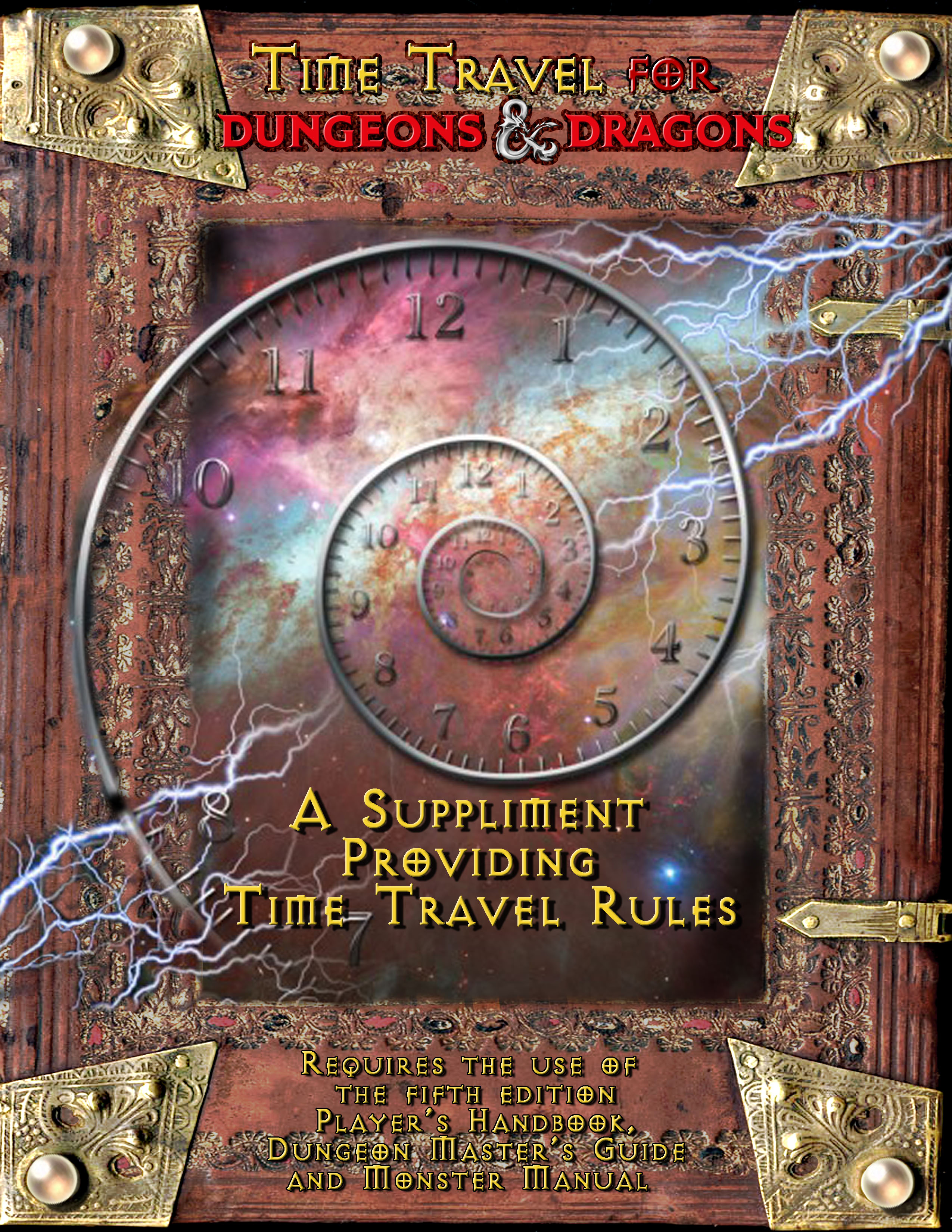 D D 5e Time Travel Dungeon Master Assistance