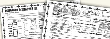 D D5e Character Sheet Rev7 Dungeon Master Assistance
