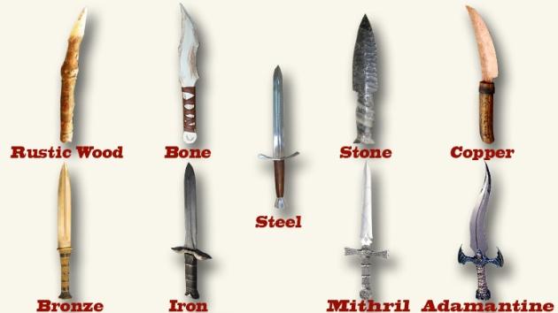 D&D 5E – Non-standard weapon/armor materials | Dungeon Master Assistance