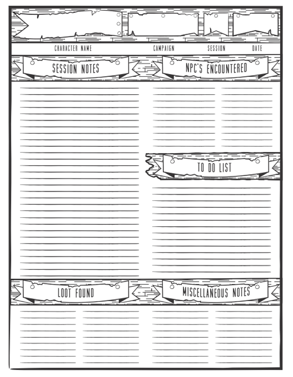 graphic relating to Initiative Tracker 5e Printable called Participating in Allows Dungeon Study Guidance